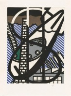 Roy LICHTENSTEIN | Une fenetre ouverte sur Chicago | Etching and Aquatint available for sale on www.kunzt.gallery