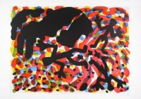 A.R. Penck | Berlin Blatt VII | Etching and Aquatint available for sale on www.kunzt.gallery