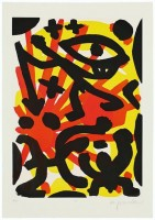 A.R. Penck | Serie II Sie | Etching and Aquatint available for sale on www.kunzt.gallery