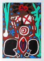A.R. Penck | Keramik | Silkscreen available for sale on www.kunzt.gallery