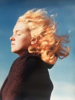 Andre DE DIENES | Marilyn in the wind (1946) | Photograph available for sale on www.kunzt.gallery