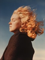 Andre DE DIENES | Marilyn. In the wind (1946) | Photograph available for sale on www.kunzt.gallery