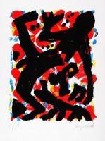 A.R. PENCK | Dresden 1992 Blatt 2 | Silkscreen available for sale on www.kunzt.gallery