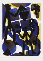 A.R. PENCK | Serie I Vergleich | Etching and Aquatint available for sale on www.kunzt.gallery