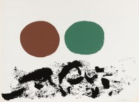 Adolph GOTTLIEB | Flurry | Serigraph available for sale on www.kunzt.gallery