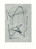 Albert RàFOLS-CASAMADA   Signe i color - 2   Etching and Aquatint available for sale on www.kunzt.gallery