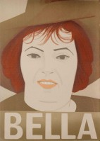 Alex KATZ | Bella | Lithograph available for sale on www.kunzt.gallery