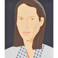 Alex KATZ | Christy | Silkscreen available for sale on www.kunzt.gallery