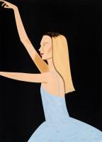 Alex KATZ | Dancer II | Screen-print available for sale on www.kunzt.gallery