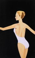 Alex KATZ | Dancer III | Screen-print available for sale on www.kunzt.gallery