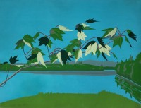 Alex KATZ | Late July, 1 | Lithograph available for sale on www.kunzt.gallery