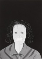 Alex KATZ | Lysa | Digital Print on paper available for sale on www.kunzt.gallery