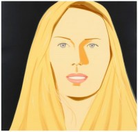 Alex KATZ | Sarah | Screen-print available for sale on www.kunzt.gallery