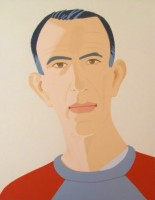 Alex KATZ | Sweatshirt II | Screen-print available for sale on www.kunzt.gallery