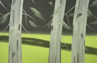 Alex KATZ | Three Trees | Screen-print available for sale on www.kunzt.gallery