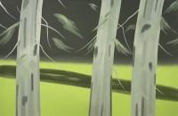 Alex KATZ | Three Trees | Screen-print available for sale on www.kunzt.gallery