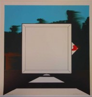 Allan D'ARCANGELO | Title Unknown | Lithograph available for sale on www.kunzt.gallery