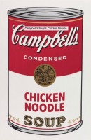 Andy WARHOL | Campbell's Soup I: Chicken Noodle (FS. II.45) | Screen-print available for sale on www.kunzt.gallery
