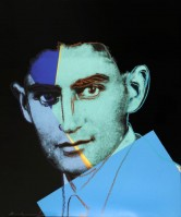 Andy Warhol | Franz Kafka | Serigraph available for sale on www.kunzt.gallery