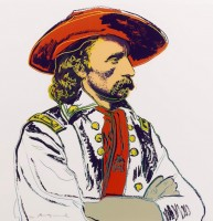 Andy WARHOL | General Custer (FS II.379) | Screen-print available for sale on www.kunzt.gallery