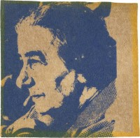 Andy WARHOL | Golda Meir | Screen-print available for sale on www.kunzt.gallery