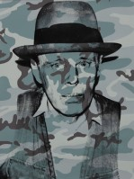 Andy WARHOL | Joseph Beuys in Memoriam | Screen-print available for sale on www.kunzt.gallery