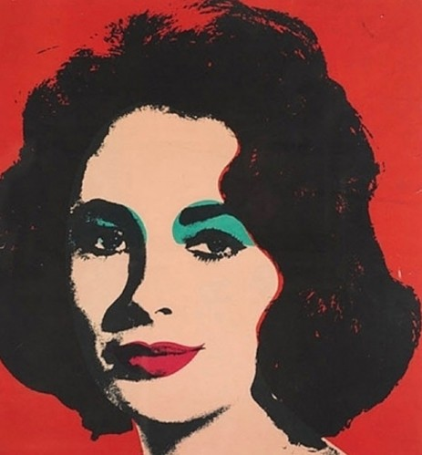 Andy WARHOL   Liz (FS II.7)   Lithograph available for sale on www.kunzt.gallery
