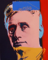 Andy Warhol | Louis Brandeis | Screen-print available for sale on www.kunzt.gallery