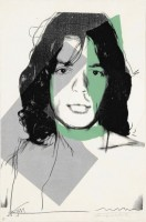 Andy Warhol | Mick Jagger (F & S II.138) | undefined available for sale on www.kunzt.gallery