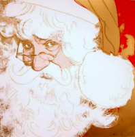Andy WARHOL | Santa Claus | Serigraph available for sale on www.kunzt.gallery