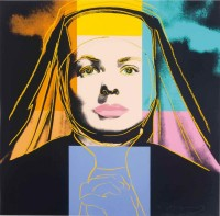 Andy WARHOL | The Nun from Ingrid Bergman | Serigraph available for sale on www.kunzt.gallery
