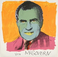 Andy WARHOL | Vote McGovern | Serigraph available for sale on www.kunzt.gallery