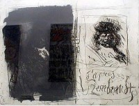 Antoni CLAVE | D'apres Rembrandt I-I | Etching and Aquatint available for sale on www.kunzt.gallery