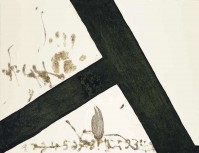 Antoni Tapies | T Inclinada | Carborundum available for sale on www.kunzt.gallery