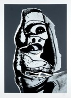Antonio SAURA   15, Moi, Planche 15   Serigraph available for sale on www.kunzt.gallery