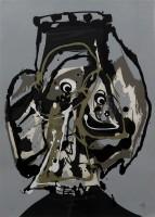 Antonio Saura   Atal   Silkscreen available for sale on www.kunzt.gallery