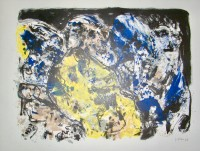Asger JORN | Berghauptwerk | Lithograph available for sale on www.kunzt.gallery