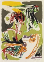 Asger JORN | Untitled | Lithograph available for sale on www.kunzt.gallery