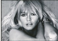 Bert STERN | Brigitte Bardot. Saint Tropez | Photograph available for sale on www.kunzt.gallery