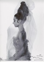 Bert STERN | Audrey Hepburn Profile | Photograph available for sale on www.kunzt.gallery
