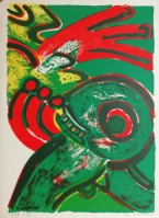 Bengt LINDSTROM | Untitled | Lithograph available for sale on www.kunzt.gallery