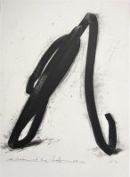 Bernar VENET | Undetermined Line | Lithograph available for sale on www.kunzt.gallery