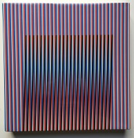 Carlos Cruz-Diez | Céramique # 1 | Ceramic available for sale on www.kunzt.gallery
