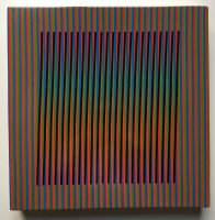 Carlos Cruz-Diez | Céramique # 2 | Ceramic available for sale on www.kunzt.gallery