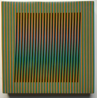 Carlos Cruz-Diez | Céramique # 3 | Ceramic available for sale on www.kunzt.gallery