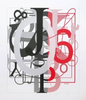 Christopher WOOL | Untitled I | Screen-print available for sale on www.kunzt.gallery
