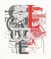 Christopher WOOL | Untitled II | Screen-print available for sale on www.kunzt.gallery