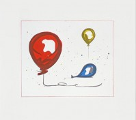 Claes Oldenburg | Balloons | Lithograph available for sale on www.kunzt.gallery