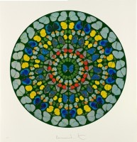 Damien HIRST | Psalm - Diligam te, Domine | Silkscreen available for sale on www.kunzt.gallery