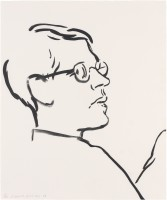 David HOCKNEY | James | Lithograph available for sale on www.kunzt.gallery